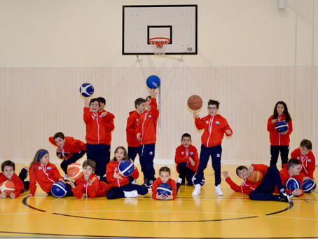 Attività Minibasket Under 11 Red