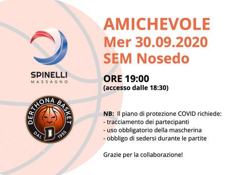 Spinelli Massagno - Derthona Basket