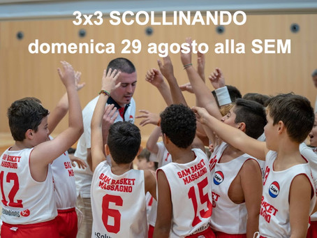 SCOLLINANDO 3X3