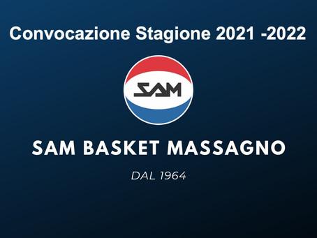 Convocazione Stagione 2021-2022