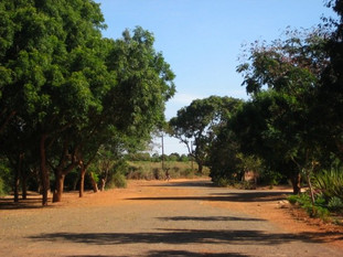 The monastary grounds