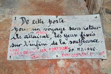 "the sign described in ""Teranga"" the book"