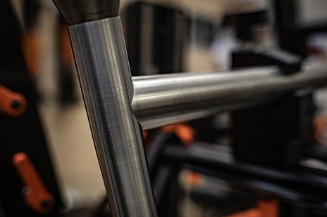 Fahrradrahmen aus Stahl nach Maß von großer Qualität