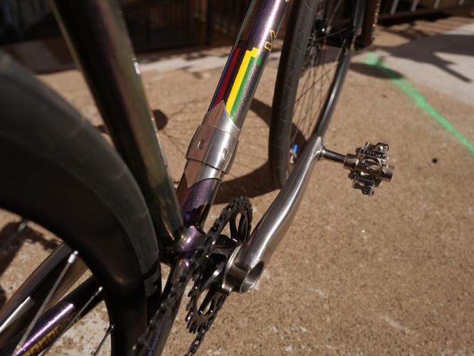 Maßrahmen Bike Polo Handmade in Frankfur