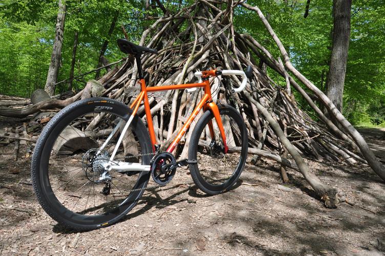 Krömer Custom Gravel Bike Made in FFM,