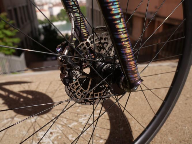 Bike Polo Rahmen Maßgefertigt in Frankfu