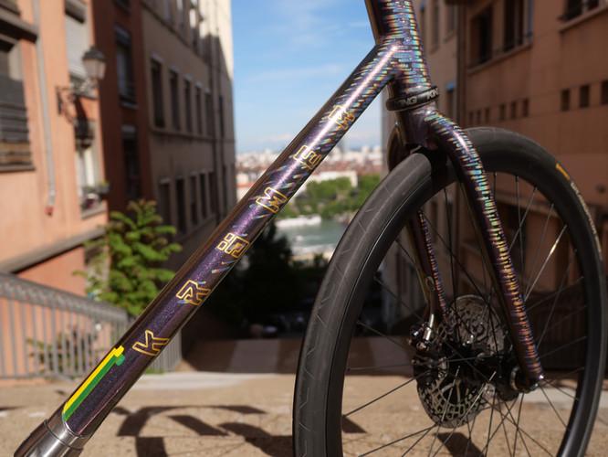 Krömer Handgefertigt Rahmen Bike Polo.J