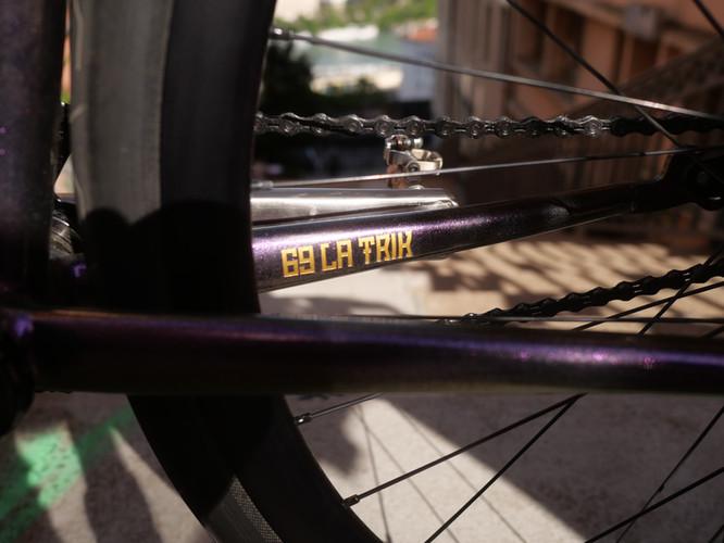 Krömer Handgefertigt Rahmen Bike Polo M
