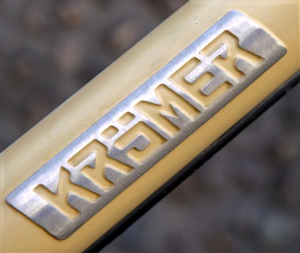 Krömer Custom Fahrrad Logo Brazed Gelötet