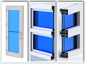 We manufacture insulated glass in Florida for Storefront