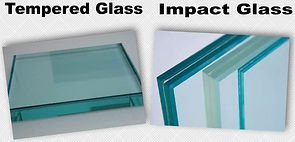 We manufacture insulated glass in Florida with tempered glass or impact glass for storefront or regular windows