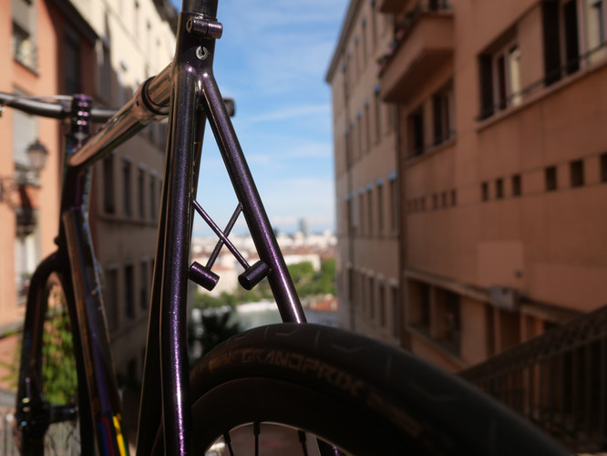 Krömer Handgefertigt Rahmen Bike Polo n