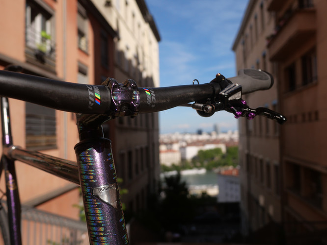 Bikepolo Sports Custom Frame Made by Kro