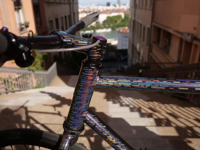 Krömer Handgefertigt Rahmen Bike Polo D