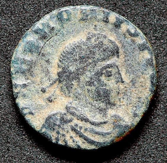 Moeda Romana Escassa de Honorius