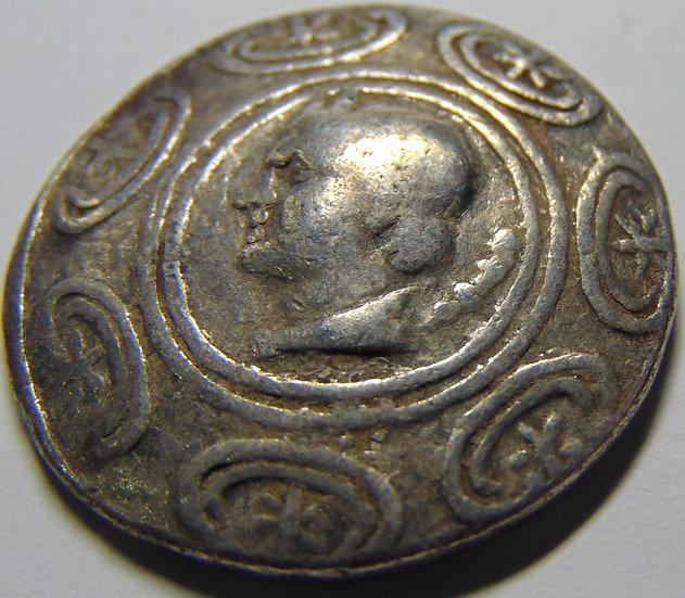 Moeda Grega Tetradracma de Antigonos Gonatas - Ref c2768