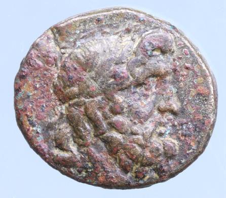 Moeda Grega Pontos. Amisos circa 85-65 BC. Bronze