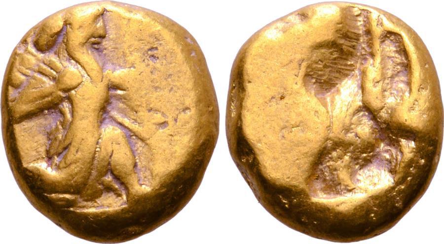 Moeda Grega: Persia, Achaemenid Empire AV Daric.