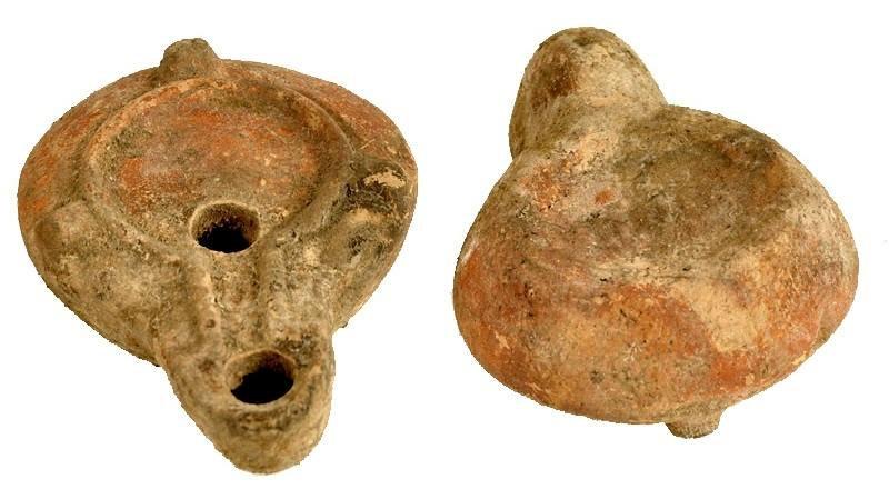Lâmpada romana 3º ao 5º século dC.