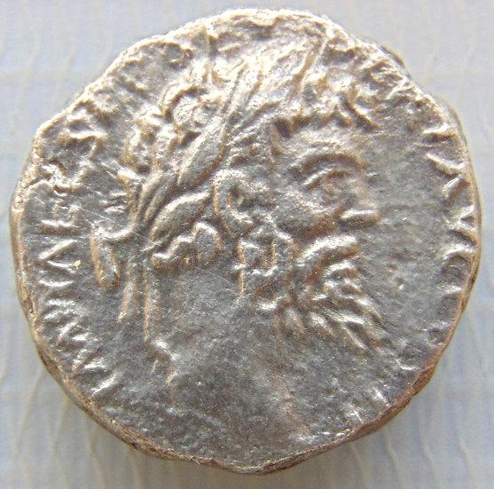 Moeda Romana Denário de Septimius Severus 193-211 dC escasso!