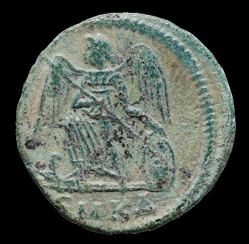 Moeda Romana Comemorativa de Constantinopla - Constantino I O Grande