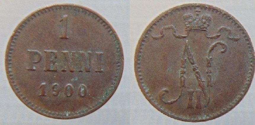 1 Penni 1900 (cobre)