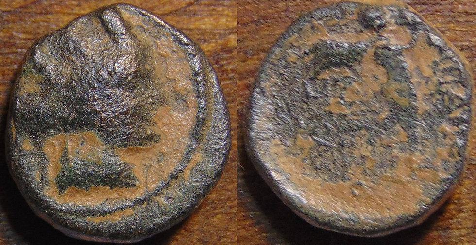 Moeda Grega da Frigia, Apameia Æ15 - 88-40 aC.