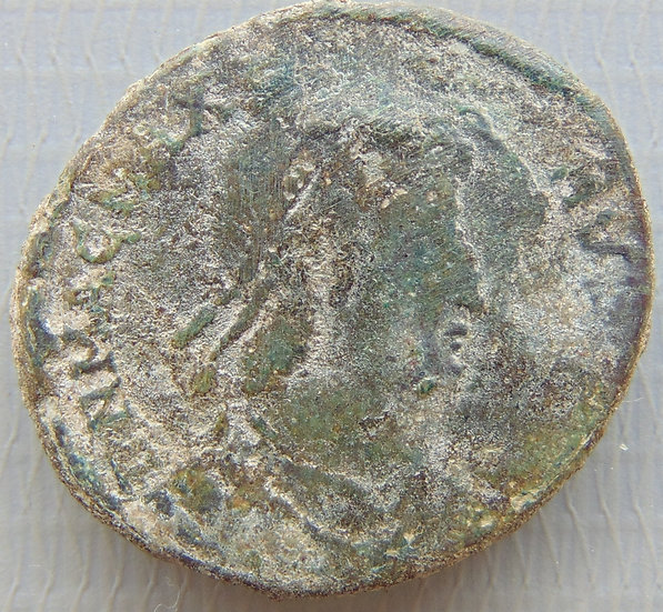 Moeda Romana Antiga RARA Magnvs Maximvs - 383-388 DC