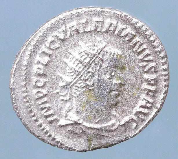 Valerian I. AD 253-260. AR Antoninianus (20mm, 3.28). Viminacium mint.