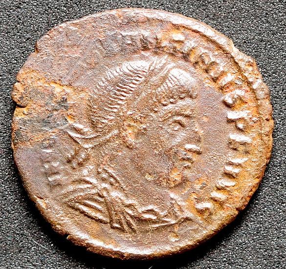 Moeda Romana Raríssima de Constantino I O Grande (306-337 dC)