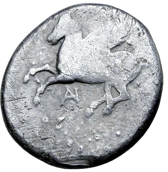 Moeda Grega Stater da Akarnania, Anaktorion (345-300 aC)