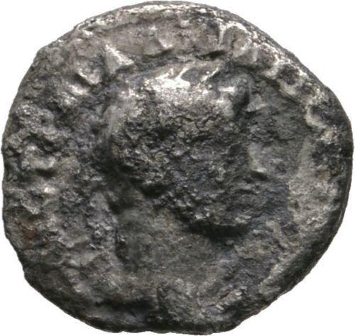 Escassa moeda Provincial Hemidracma de Adriano Capadócia - Caesaraea