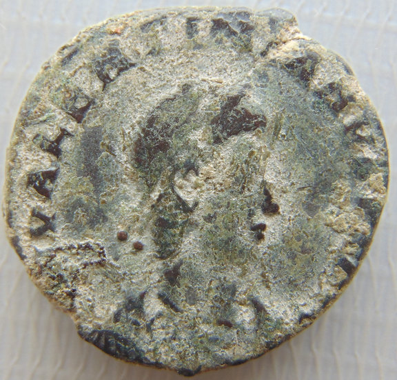 Moeda Romana Antiga Valentiniano II - 375-378 DC