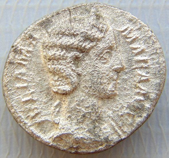 Moeda Romana Denário Julia Mamaea 225-235dC