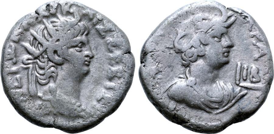 Nero BI Tetradrachm of Alexandria