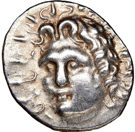 Moeda Grega Dracma de Rodes (84-30 aC)