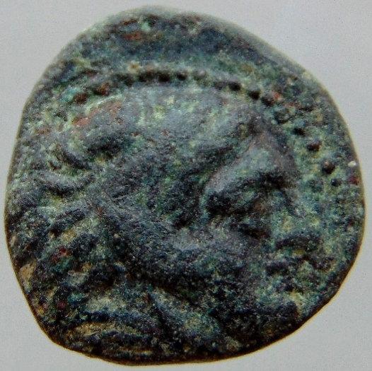 Moeda Grega RARA Alexander III 336-323 aC - AE11