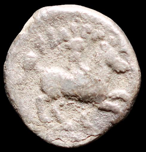 Moeda Grega Rara Tetrobol PRATA de Felipe II (Pai de Alexandre O Grande) (359-33