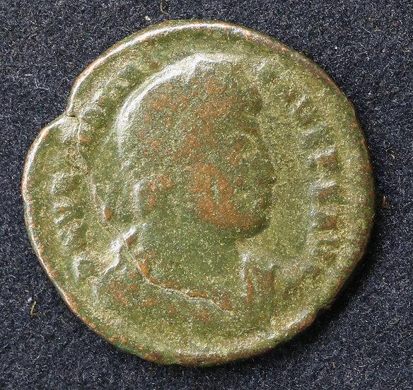 Moeda romana de Valentiniano I 364-378 dC