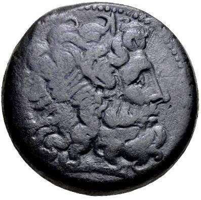 Grande Moeda Grega/egípcia - Ptolomeu Iii 246-222ac