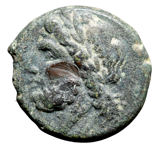 Moeda Grega escassa da Apulia, Arpi (325-275 aC).