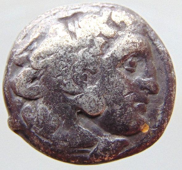 Moeda Grega Dracma de Alexandre III - O Grande 336-323 aC