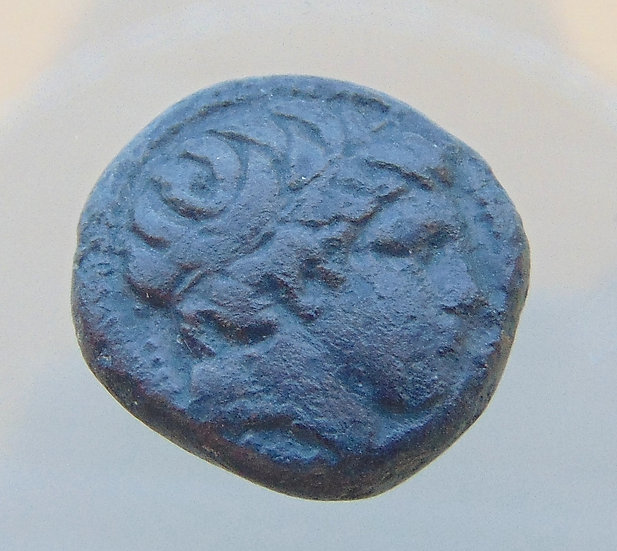 Moeda Grega Macedônia de Felipe II  pai de Alexandre - 359-336 aC