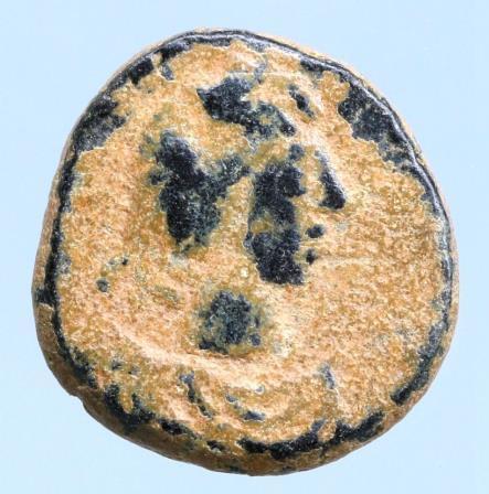 Moeda Bizantina Justin I. A.D. 518-527. Pentanummium