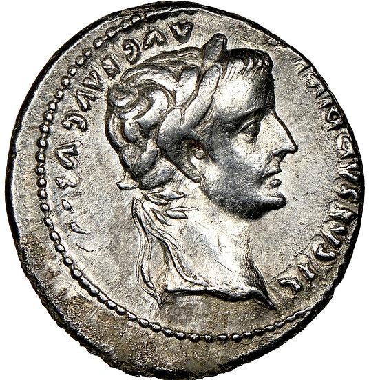 Moeda Romana de Tibério Tribute Penny