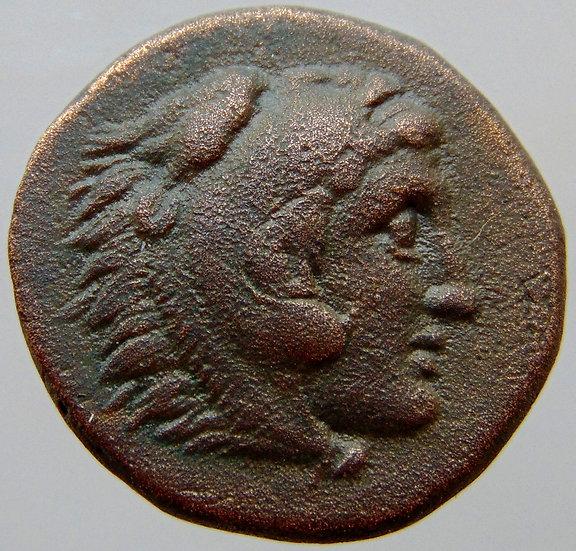 Moeda Grega Seleukos II Kallinikos 246/226 aC - MS - estado de cunhagem