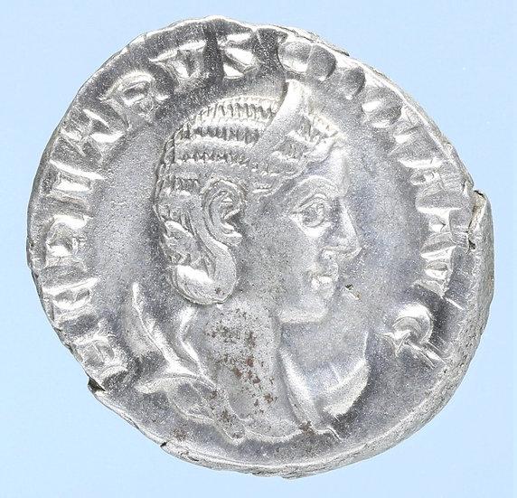 Moeda Romana de Herennia Etruscilla AR Antoninianus(249-251 dC).