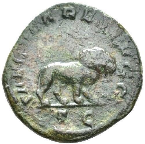 Moeda Romana Edição Ludi Saeculares (Jogos Seculares), em comemoração aos 1000
