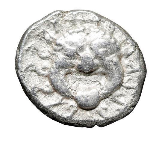 Moeda Grega Dracma da Trácia, Apollonia Pontica (500-400 aC)