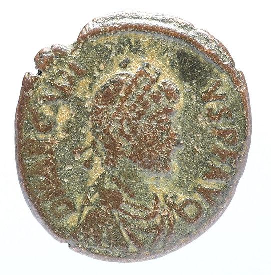 Moeda Romana de Arcadius. 383-408 dC